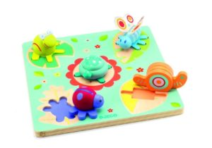 DJECO puzzle tortue & amis