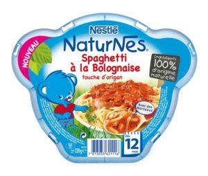 Assiette NaturNes Spaghetti à la bolognaise