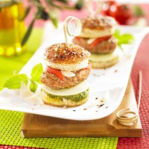 Mini Burger de veau Italien Tendriade - Crédit photo - Apoint Studio