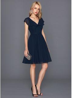 robe-mousseline-bleue