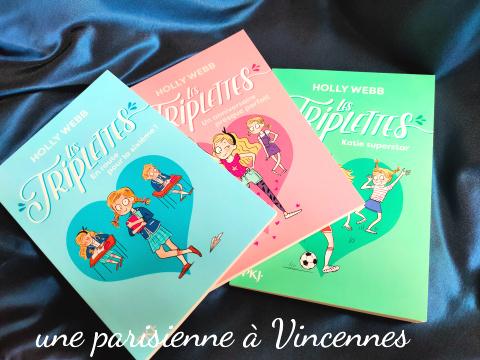 nouvelles lectures pour enfants la série les triplettes