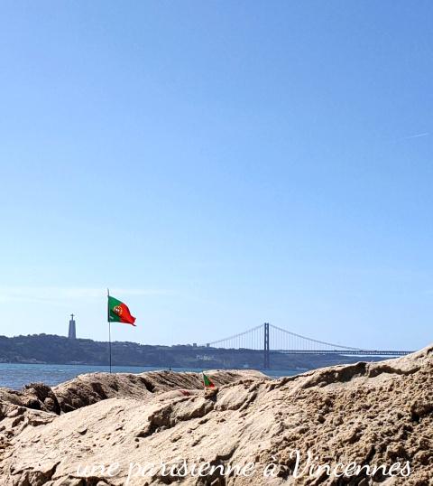 plage lisbonne pont 25 avril
