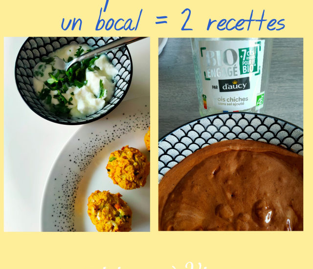 pois chiches - recettes