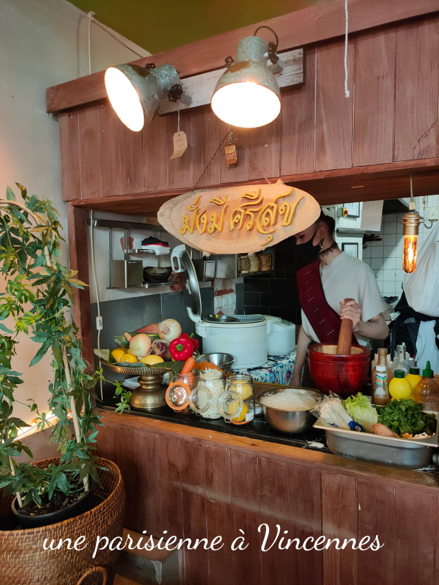 food thaï à Paris