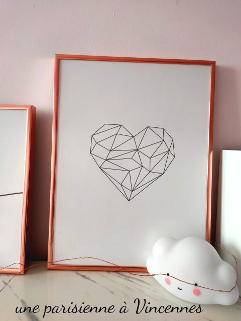 cœur géométrique