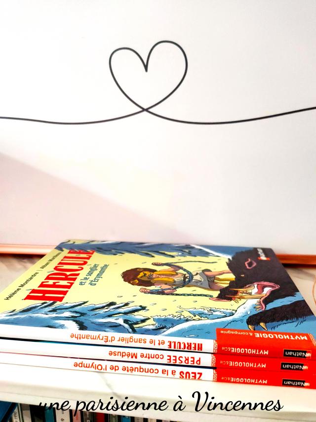 livre enfant mythologie