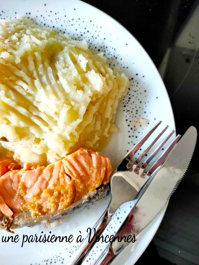 saumon - pomme de terre
