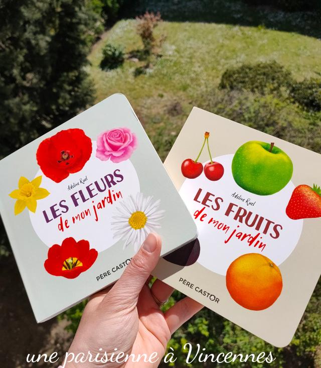 livres fruits et fleurs